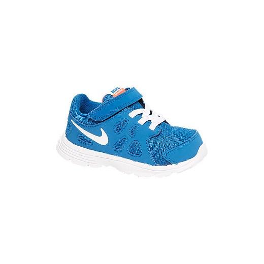 ae6a5a9f0979f buty dziecięce Nike Revolution 2 TDV deichmann niebieski wiosna w Domodi