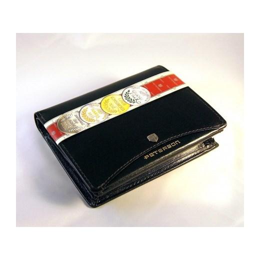 b4b87e709934a ... Elegancki skórzany portfel męski PETERSON Czarny stylowagalanteria-com  czarny jesień ...