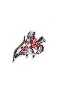 Broszka kwiat kiara-sztuczna-bizuteria-jablonex   - kod rabatowy