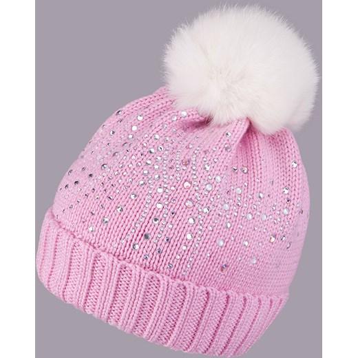 Chwalebne Włóczkowa czapka z wełny merino pomponem czapki-dla-dzieci-tutu FD82