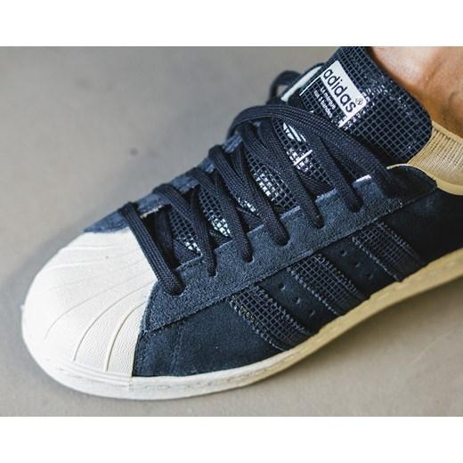 buty temperamentu sprzedaż uk Stany Zjednoczone Buty damskie sneakersy Adidas Originals Superstar 80's S81323  sneakerstudio-pl granatowy jesień