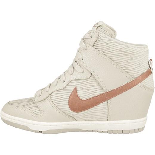 Prosty i elegancki Buty Buty Damskie Sneakersy Koturny Nike