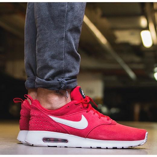 Darmowa dostawa gorące wyprzedaże kup dobrze Buty męskie sneakersy Nike Air Max Tavas Leather 802611 601  sneakerstudio-pl rozowy do biegania