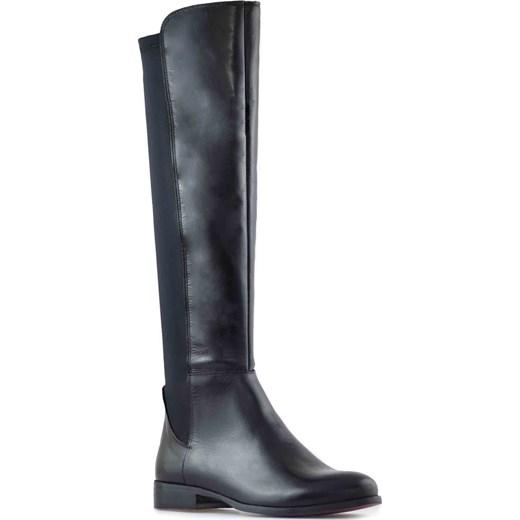 fae42945ae2cf Kozaki Venezia 3544 Czarne arturo-obuwie szary klasyczny w Domodi