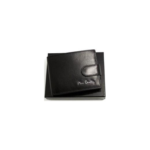 fc8ba5f1f32af Mały portfel męski skórzany Pierre Cardin YS520.7 323 C galmark czarny