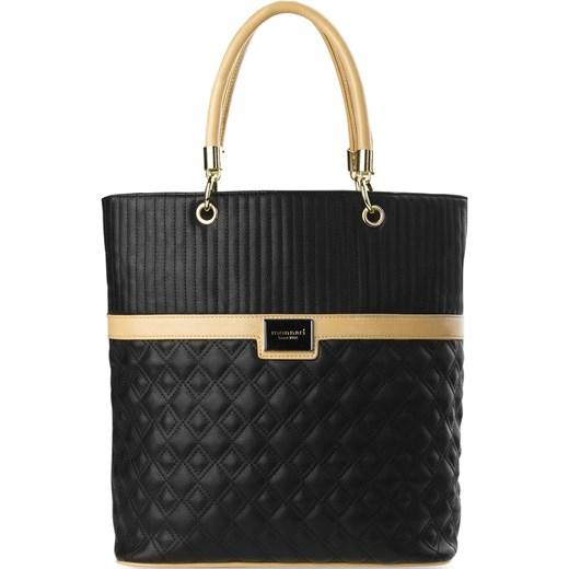 d71ca9445169 MONNARI SHOPPER BAG TOREBKA DAMSKA PIKOWANA world-style-pl czarny casual ...