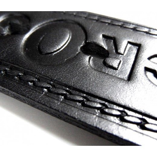 7d39316eddc0a ... Pasek Męski Skórzany PAS-MAX CROSS z Metalową końcówką Skóra Licowa 40  mm torebunie- ...