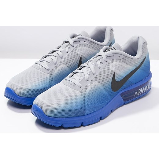 innovative design 906de f9962 ... low cost nike performance air max sequent obuwie do biegania  amortyzacja racer blue black wolf grey ...
