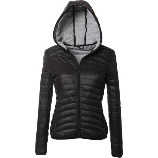czarna kurtka wiosenna damska sportowa
