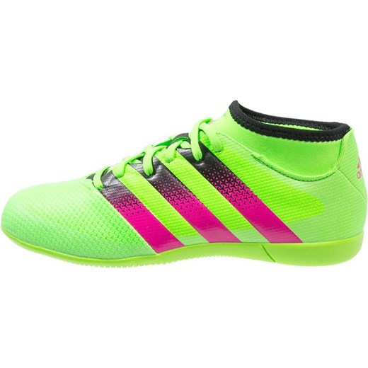 adidas Performance ACE 16.3 IN Halówki solar green shock pink core black  zalando zielony ... 4908f7795b