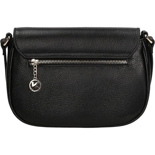 dd857af7a4ca4 ... Czarna torebka przez ramię kazar-com czarny glamour ...