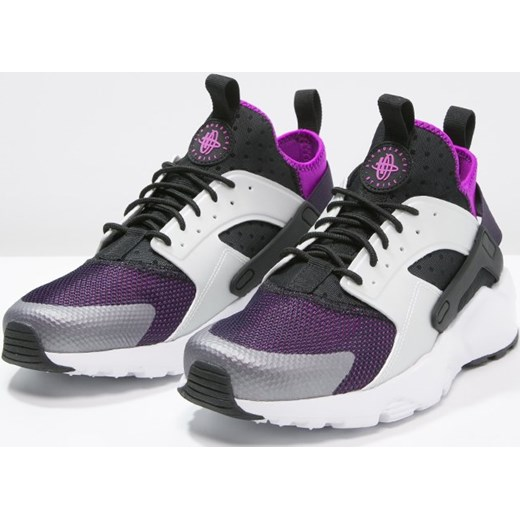 the latest 38380 e8986 ... Nike Sportswear AIR HUARACHE RUN ULTRA Tenisówki i Trampki black wolf  grey hyper volt ...