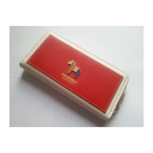 3ed4d413cebb4 ... PETERSON skórzany portfel pony z konikiem Czerwony  stylowagalanteria-com czerwony damskie ...