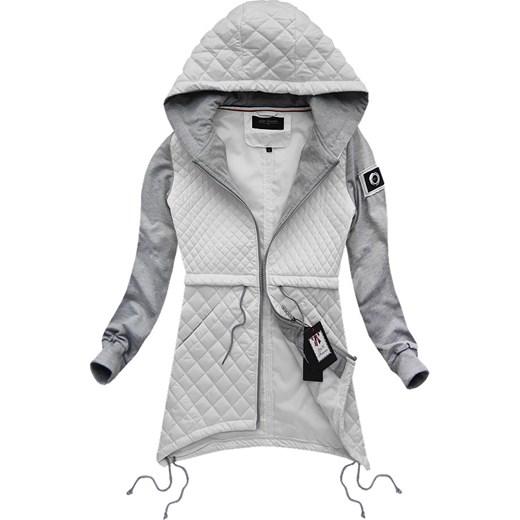 pikowana kurtka z dresowymi rekawami goodlookin