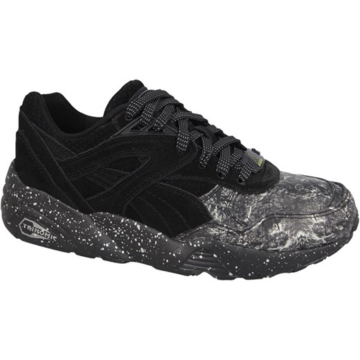 Buty męskie sneakersy Puma R698 Roxx 360857 01 sneakerstudio pl czarny skóra