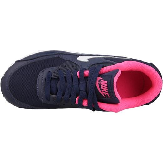 Nowy trend Obuwie Damskie Nike Air Max 90 Mesh GS 724855 100