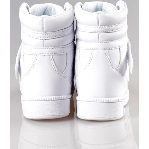 buty adidas damskie białe za kostke