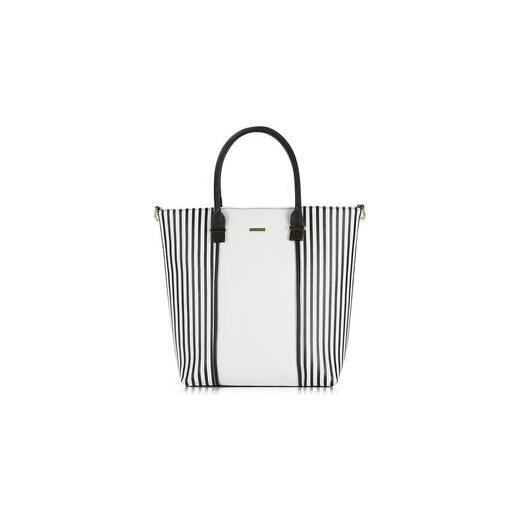 40c0cf6e103a8 Wittchen Young duża torba biało-czarna royal-point szary elegancki w ...