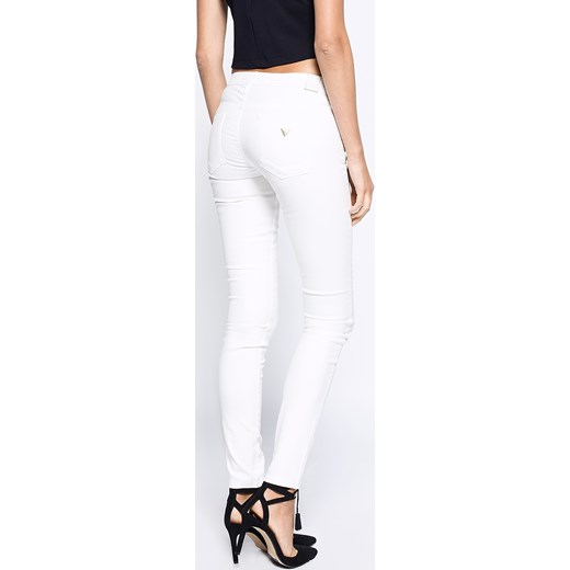 50f1b183b34bd ... Spodnie damskie - Guess Jeans - Spodnie Jegging Ankle answear-com bialy  młodzieżowy