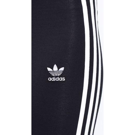 b013ed1fbb6149 Spodnie damskie - adidas Originals Legginsy answear-com czarny bez wzorów w  Domodi