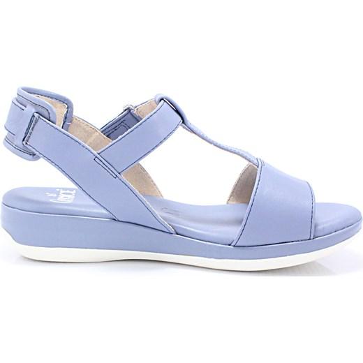 c89b6370 CAPRICE 9-28702-26 NIEBIESKIE – Wygodne buty damskie na lato niebieski  Sklep Obuwniczy KENT w Domodi