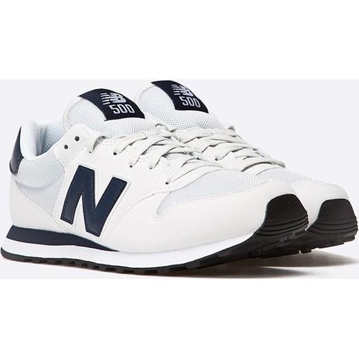 buty new balance białe