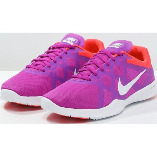 1896cee523f2 ... Nike Performance LUNAR LUX TR Obuwie treningowe hyper violet white bright  crimson Nike Performance