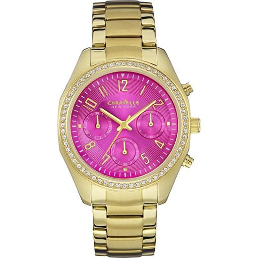 2c2da52fe0440f ZEGAREK CARAVELLE 44L168 Nowoczesne Zegarki na rękę e-watches rozowy damskie  w Domodi