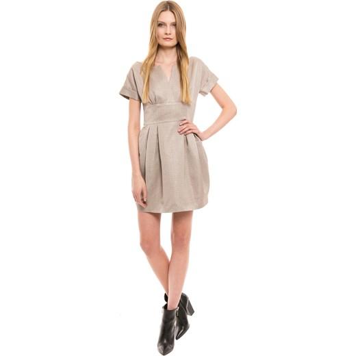 e6790cadc9 Sukienka Simple bezowy 42 okazyjna cena  Sukienka Simple bezowy 40  wyprzedaż ...