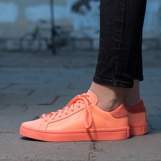 "purchase cheap 9e878 b3e13 Buty damskie sneakersy adidas adiColor Court Vantage So Bright Pack""  S80257 Adidas Originals ..."