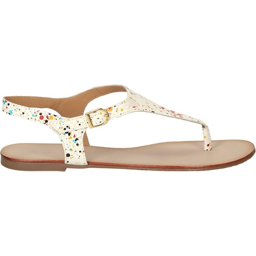 b530d1e0 Multikolorowe sandały damskie bezowy Kazar kazar.com w Domodi