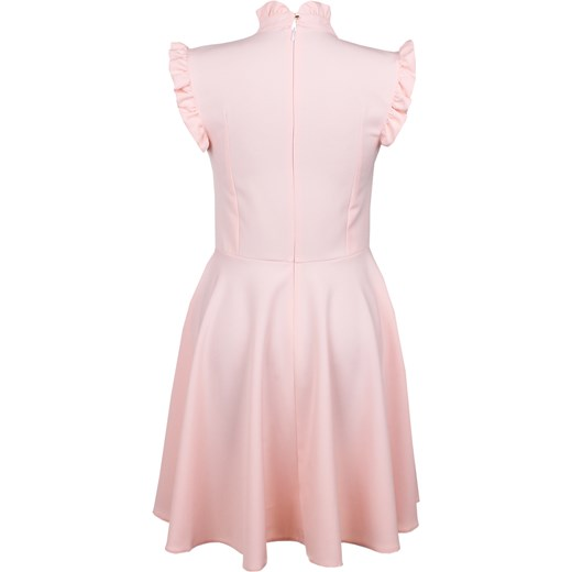 96971b45f3 Sukienka Taylor pudrowy róż Limoda bezowy limoda.pl w Domodi