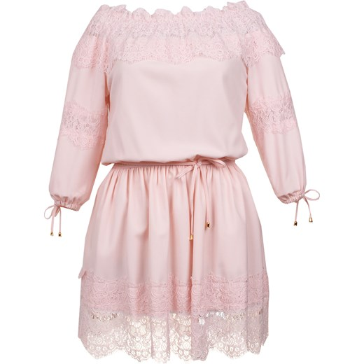3c1722f4e0 ... Sukienka Perla pudrowy róż bezowy Limoda 40 limoda.pl ...