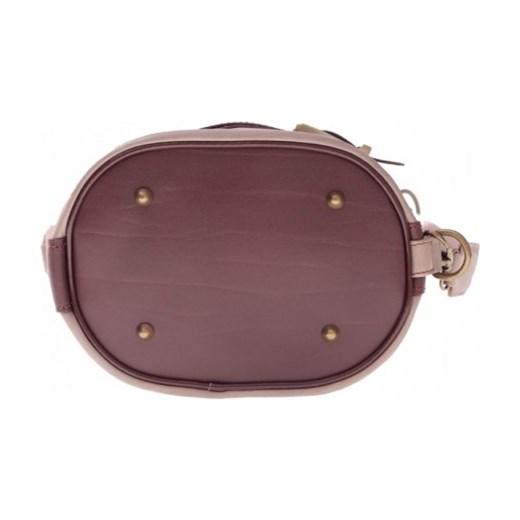 97bd67df14176 ... Torebka Plecaczek miękka skóra naturalna Ziemista (kolory) Genuine  Leather fioletowy PaniTorbalska ...