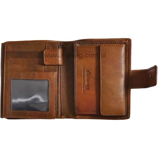 88412e819d79b ... DAAG Alive P-11 vintage portfel skórzany męski koniakowy w pudełku Daag  Skorzana.com ...