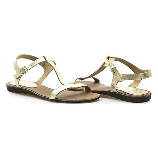 eb6ae366e2e11 Sandały Venezia 1769 LAM PLAT 1769-4626 Złoty bialy Venezia Arturo-obuwie