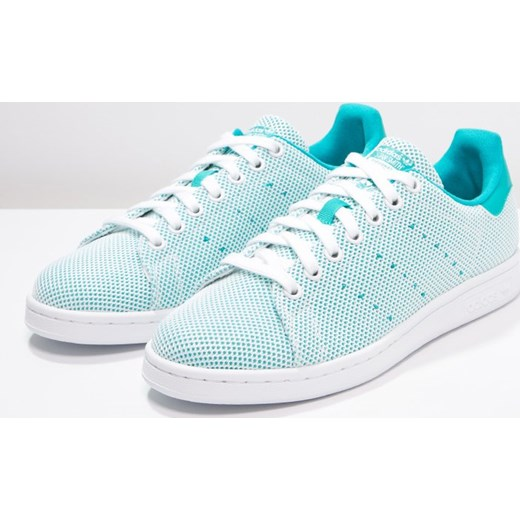 new style 09326 08870 ... adidas Originals STAN SMITH ADICOLOR Tenisówki i Trampki shock green white  mietowy Adidas Originals 38 ...