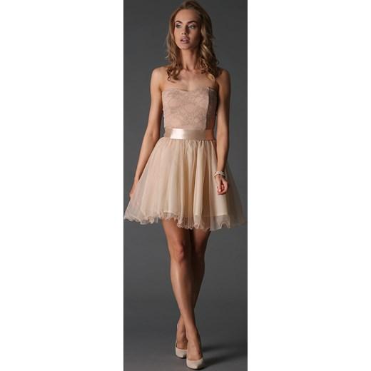7dfc4986bd Sukienka Beżowa KIKI6951 fasardi bezowy fasardi.com w Domodi