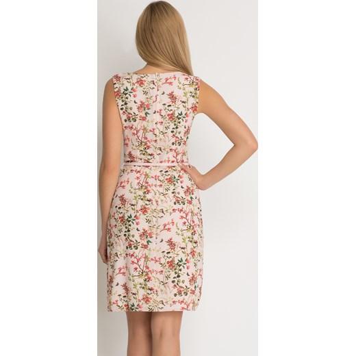 87d231d2ed ... Zwiewna sukienka w kwiaty Orsay bezowy 36 orsay.com ...