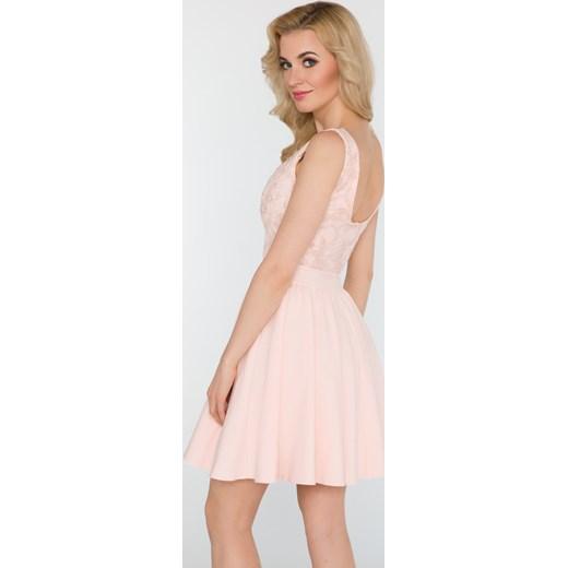 f6332974e7 ... Sukienka Juliet pudrowy róż Limoda bezowy 34 limoda.pl ...