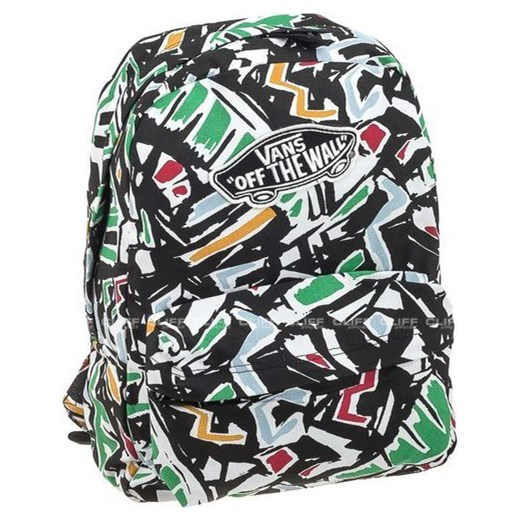 2156fb0f8bd5c PLECAK VANS REALM BACKPACK WHITE MULTI cliffsport.pl w Domodi