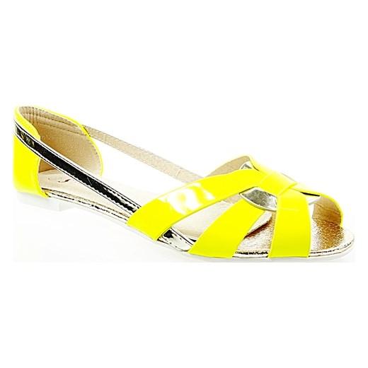 ccac2775 Shoes W Żółte Seastar Baleriny Paski Sandały Domodi Damskie Family 10qASPwYx