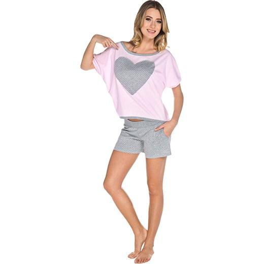 e998d1953d5fc1 Piżama damska różowa LORIN Italian Fashion rozowy SweetSleep w Domodi