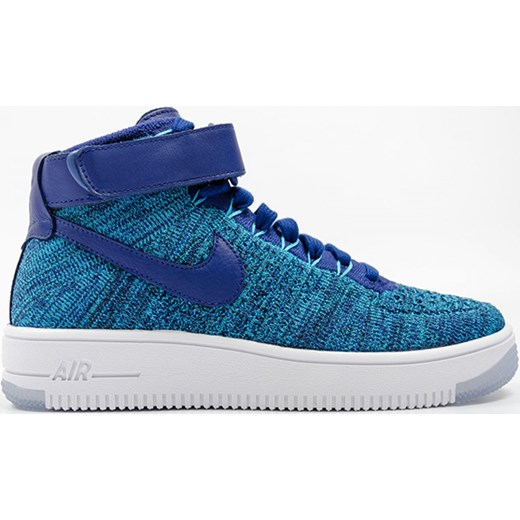 save off c0970 bfba1 Nike Air Force 1 Flyknit Nike niebieski 38 forpro.pl