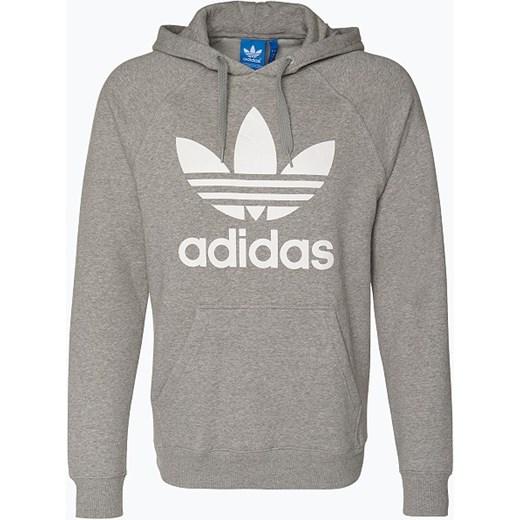 17b00bbdf adidas Originals - Męska bluza nierozpinana, szary Adidas Originals szary  vangraaf