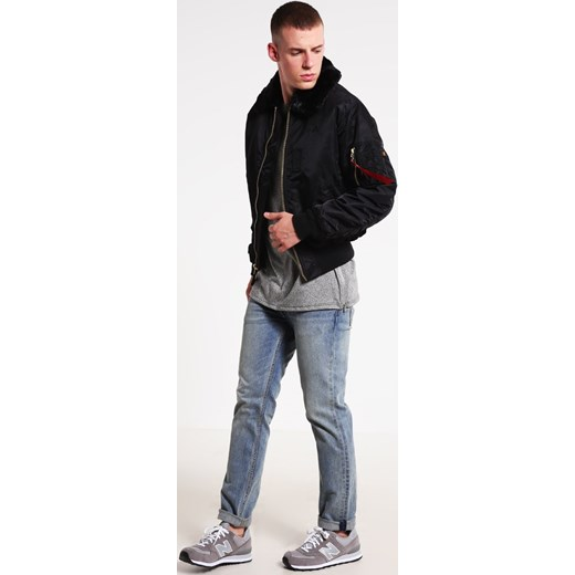 Alpha Industries B15  Kurtka Bomber black Alpha Industries  L Zalando
