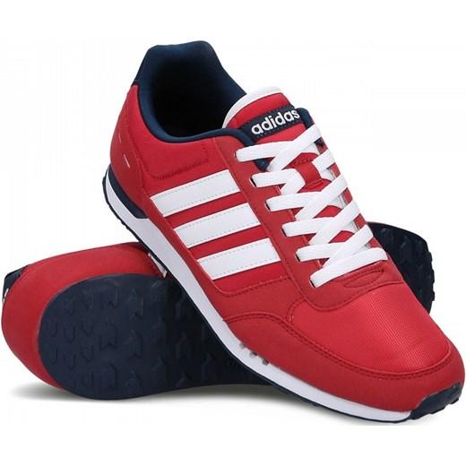 buty adidas neo city racer czerwone