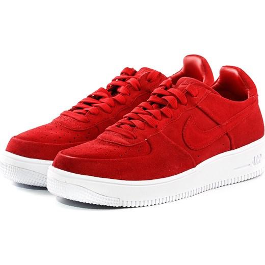 buty nike air force 1 czerwone