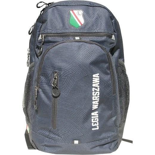 7d935f5468dc9 Legia Warszawa, plecak szkolny, szary niebieski B&S smyk w Domodi