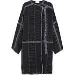Oversized wool and cashmere-blend bouclé coat